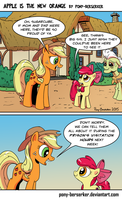 Apple Is The New Orange by Pony-Berserker