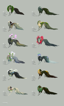 Wildflower Collection - Flat Sale by witherlings