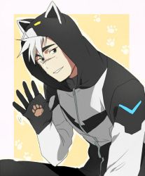 Voltron jacket Shiro ver. by CATGIRL0926