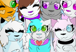 Me and my Friends by CattyAngel