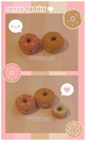 Donut Family by SqueakyToybox