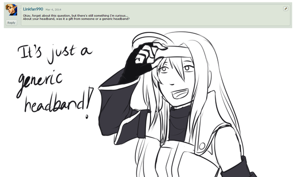 Question #22 - Headband! by Ask--Mia