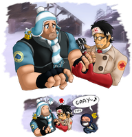 TF2 - Not so enemies after all by ShinyZango
