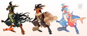 Deereon Adoptables! BATCH 3 AB ADDED by LiLaiRa
