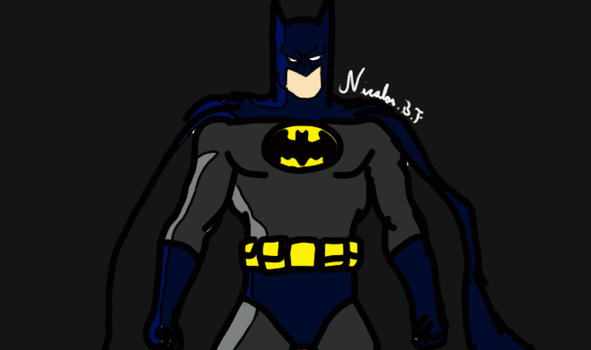 Batman fanart by NickBF5
