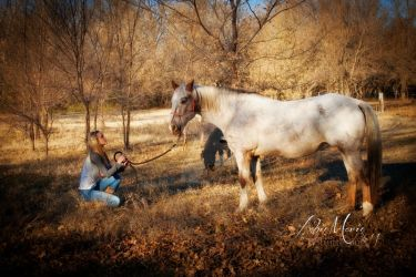 A girl and her horse - Abie Marie Series by shutterbug226