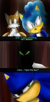 Sonic- Feel like a Amnesia (?) : The dark decent 3 by Assassins-C
