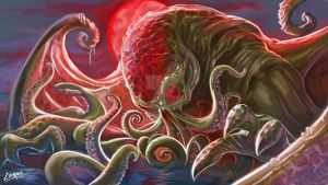 Cthulhu rises by clemper