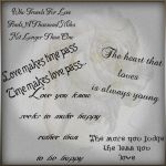 brushes -quotecollection 1 by AzurylipfesStock
