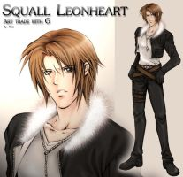 Squall Leonheart for G by pitykess