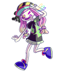 ABXY Anemone Girl by Camichuriin