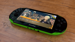 Playstation Vita by Oravius