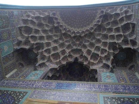 Isfahan Imam mosque by Persians