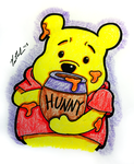 Winnie The Pooh And His Honey by chelano
