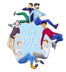 The Pack (+Speedpaint) by LividToffee