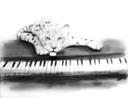 Leopard of Soft Piano by AoiKita