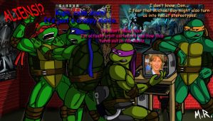 TMNT reactions to Michael Bay by ShadowNinja976