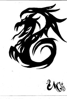 Dragon by msharkgirl13