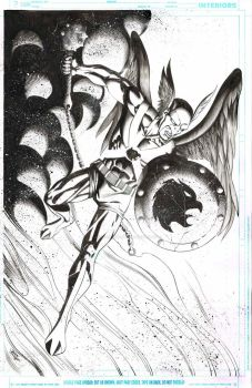 Hawkman draw for fun by JonasTrindade