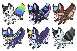 Fox Adopts (1/6 OPEN) by WolfoxAdopts