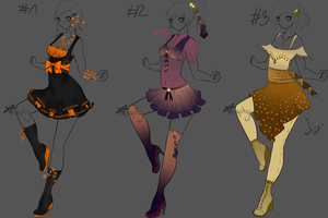 SET#4 Adopt outfits AUCTION(CLOSED) by Sytrysia