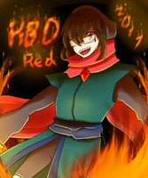 HBD Red! by FukuroMami555