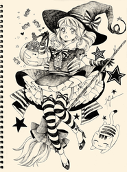 Little Witch by Florineil-chan