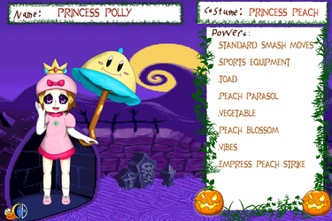 Halloween Warrior  Princess Polly by Cloud-Dream