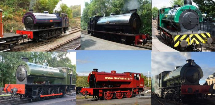 My Top Six Hunslet Austerity 0-6-0STs by Gadgetnatic83