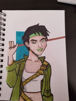 Jade (Beyond Good and Evil) by Rodman1901