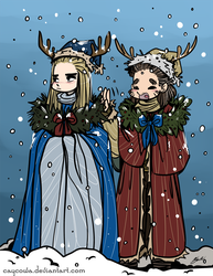 Hobbit - Barduil - Christmas Spirits by caycowa