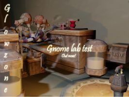Gnome lab test by Glowzone