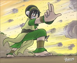 Rough and Toph by TheBourgyman