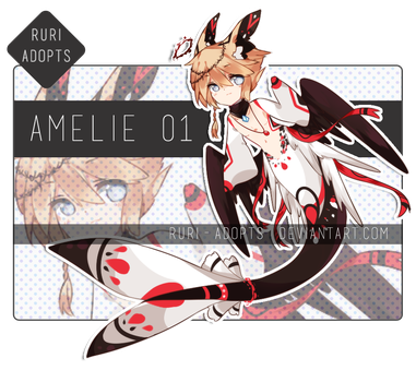 [CLOSED] Amelie 01 by Ruri-Adopts