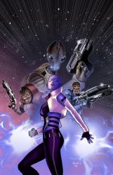 MASS EFFECT cover4 by PaulRenaud