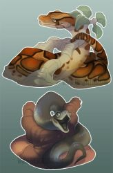 Snakes by skulldog