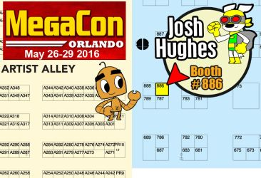 2016 MegaCon map by AtomicTerrier