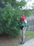 Poison Ivy Green Behind The Wall 3 by doctorderanged