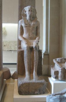 Egyptian statue by CAStock