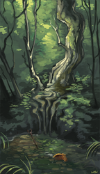 Forest Pool by GreekCeltic