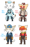 TF2-BLiNX Crossover by catgirl140