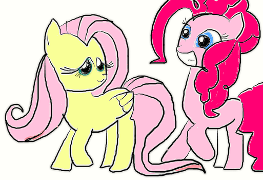 you like Pinkie pie or Fluttershy by Pinkieshy435