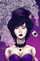 Commission: Mad Hatter DA by Swii