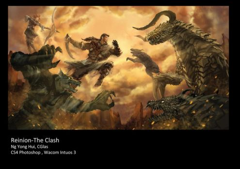 The clash by CGlas