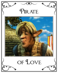 Shirt No.2 - Pirate of Love by LeelaComstock