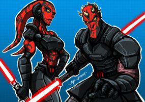 TALON N MAUL by Sabrerine911