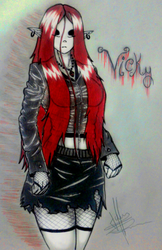Vicky_The_Scars_of_Demons_dibujo_casual by LJHuckman