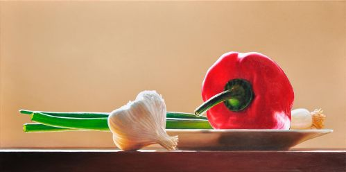 Still life with peppers by christopheberle