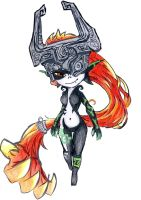 Colourful Midna by KoolGal14