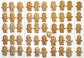 Gingerbreads by MaComiX